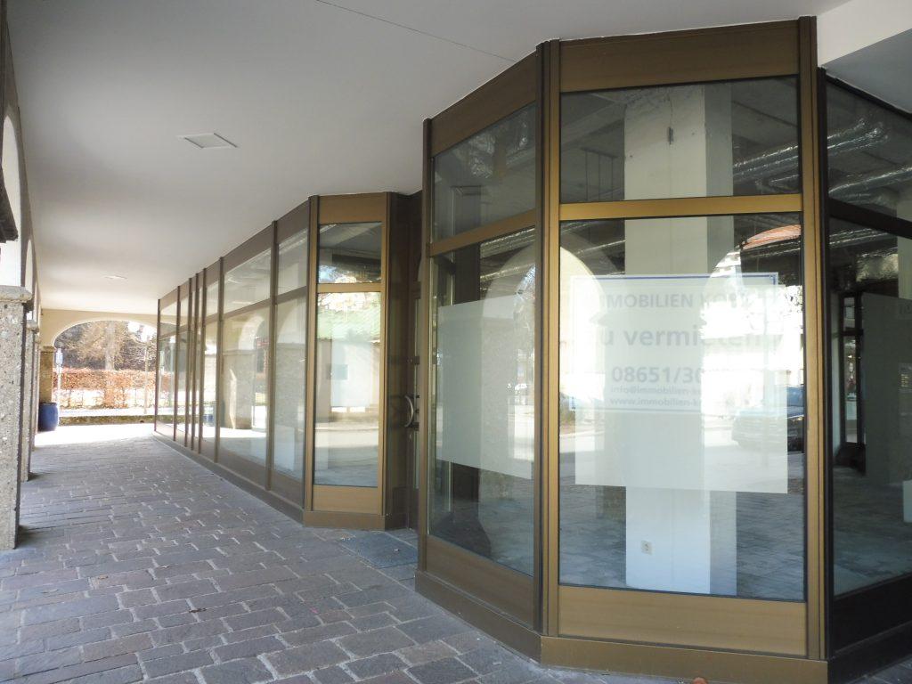große Schaufensterfront