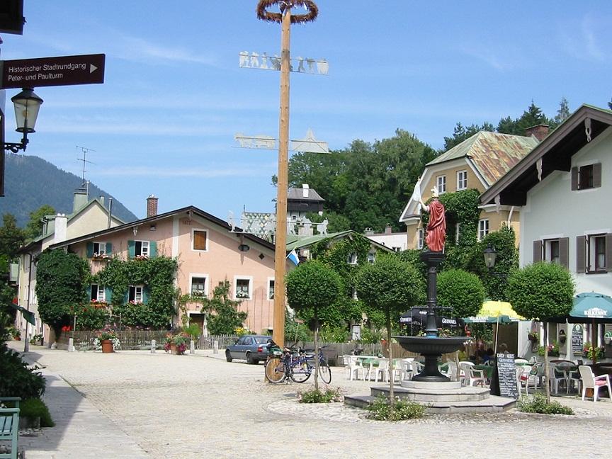 Florianiplatz Bad Reichenhall
