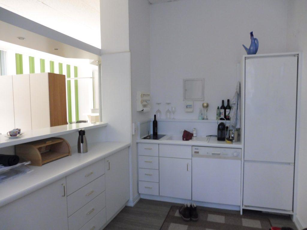 Küchenzeile Rezeption